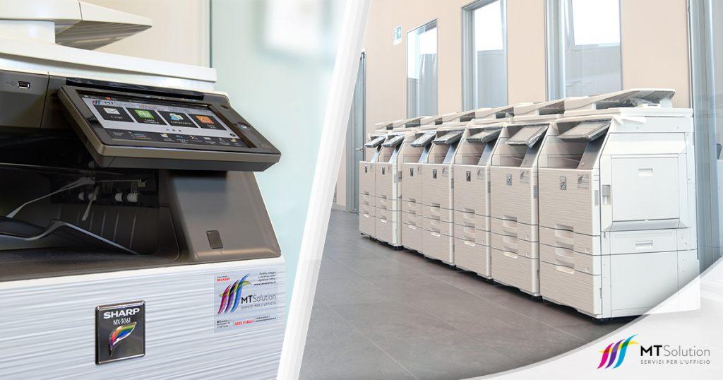 noleggio stampanti multifunzione a Treviso