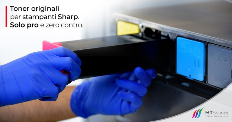 Toner originali per stampanti Sharp